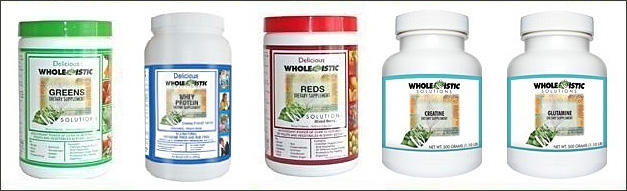 Whole-istic Solutions Nutritional Supplements